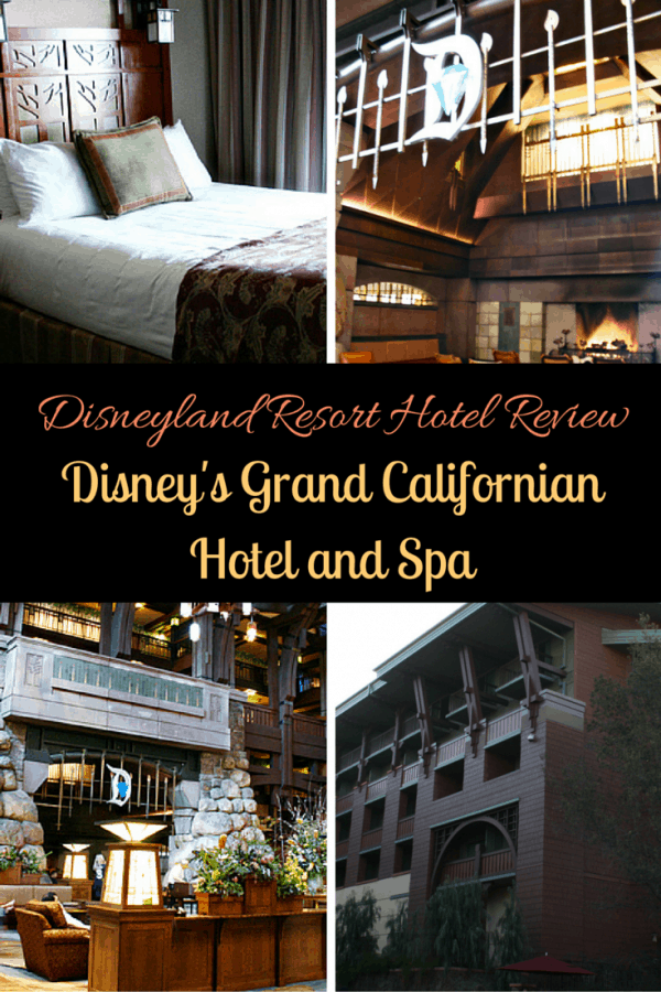Disney's Grand Californian Hotel and Spa - A Rustic Respite in the City