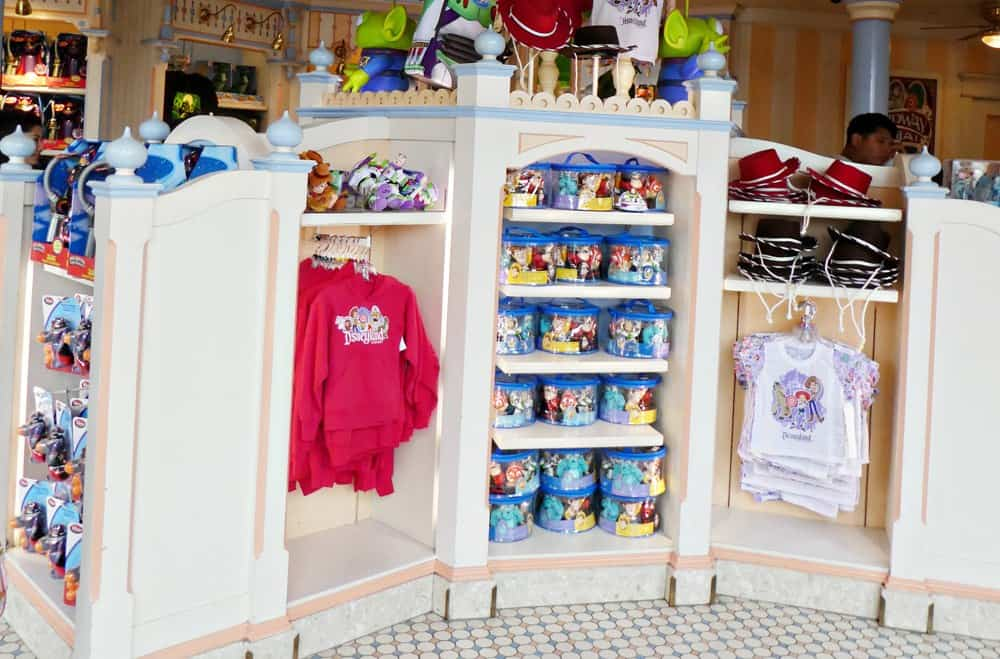 Toy Story souvenir shop at Disney California Adventure park