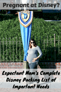 Expectant Mom's Disney Packing List-PIN