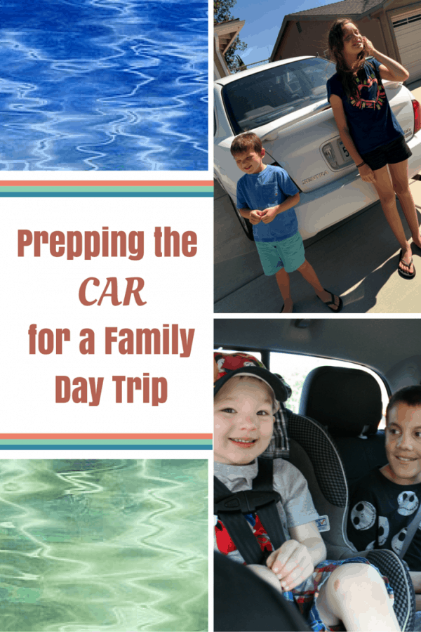 Find out How I Prep the Car for a Family Day Trip #RoadTripOil #AD