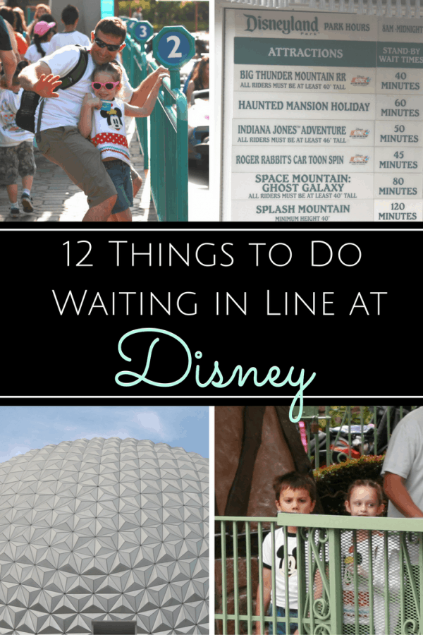 Check Out these 12 Best Uses of Waiting in Line at Disney Parks