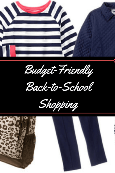Budget-Friendly Back-to-School Outfits at Gymboree