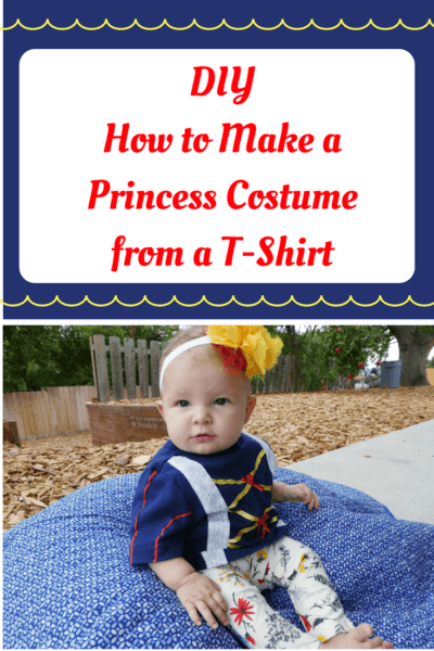 Easy DIY Disney Princess Costumes on a Budget