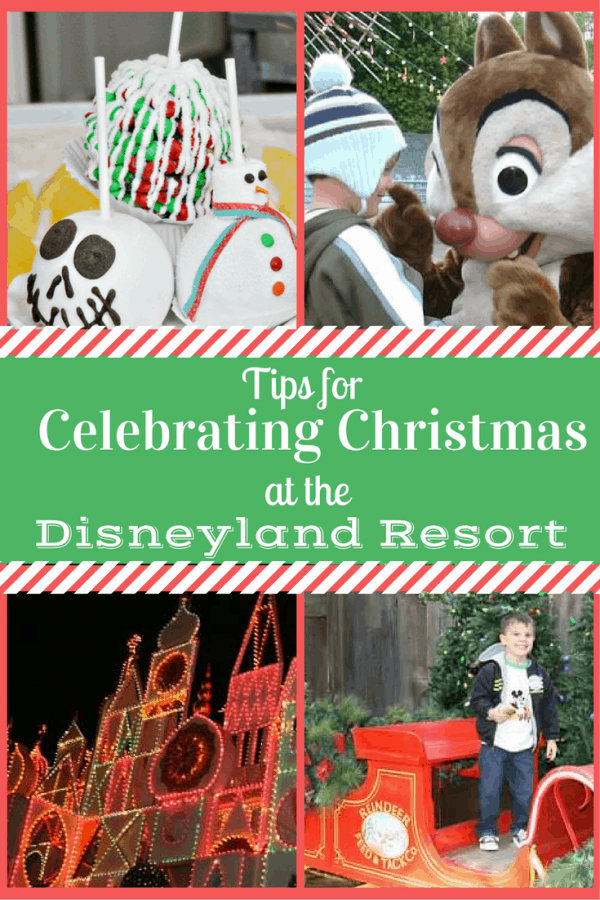 Insider tips on celebrating Christmas at Disneyland Resort