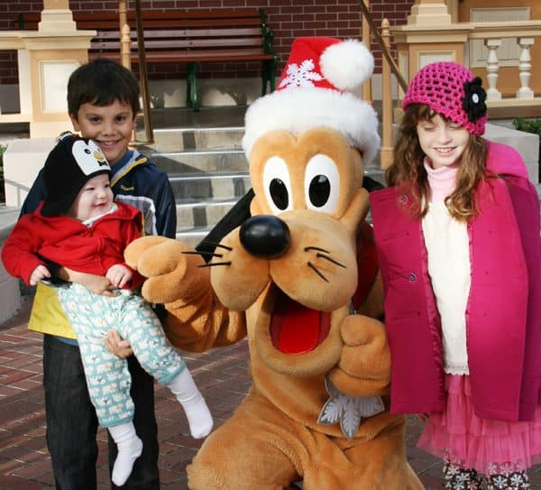 Celebrating Christmas at the Disneyland Resort