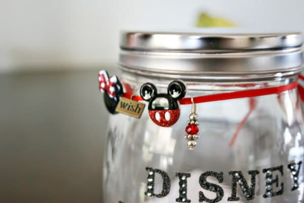 Kids can save money for Disney with this DIY tutorial to make their own Disney Vacation fund bank!