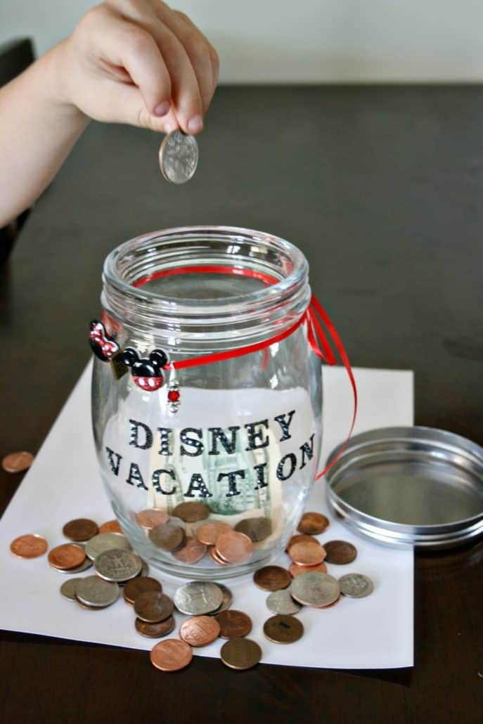 Kids Can Save Money for Disney