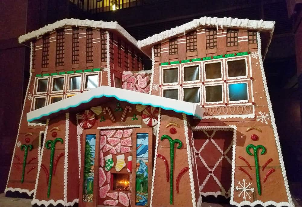 Disney's Grand Californian Hotel gingerbread house, 2018