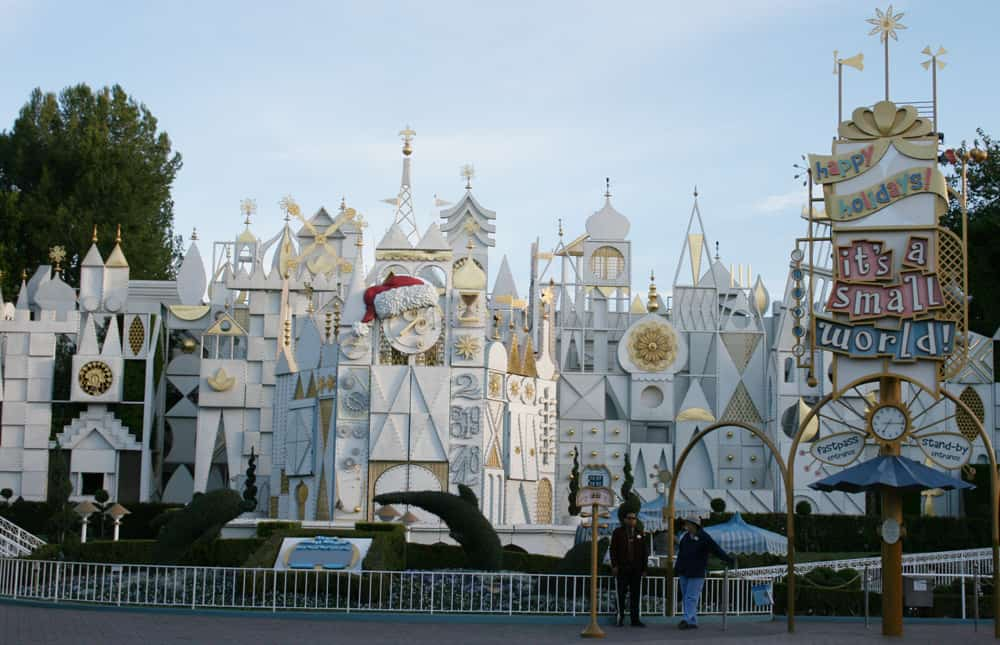 It's a small world Holiday facade