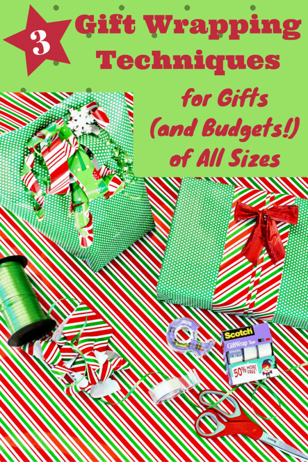 3 Simple Gift Wrapping Techniques That Are Creative, Unique and Budget-Friendly! #ad @walmart