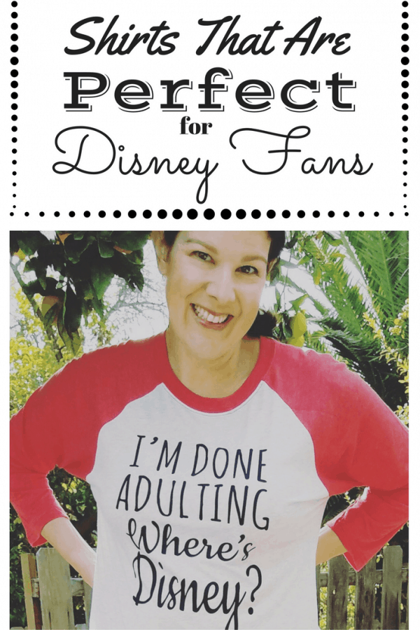 Shirts for Disney Fans That They'll Love to Wear!