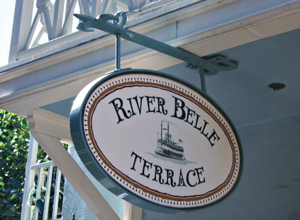 River Belle Terrace Disneyland restaurant