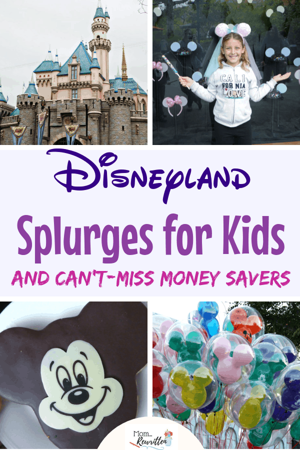 Plan a magical Disneyland with all the amazing vacation splurges to indulge your kids! These are some of the best parts of a magical vacation including special Mickey treats, holiday events and character meals. Find out the top splurges at Disneyland for kids including where to eat, what to buy and extra-special things to add on your trip. See the money saving tips that feel like splurges! #Disney #DisneyTravel #DisneyTips | Travel with Kids | Family Travel