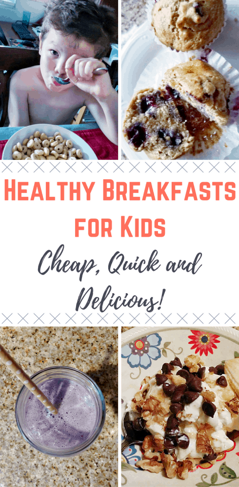 You want healthy breakfasts for kids but they have to be quick and cheap! Check out these 13 healthy breakfasts for kids (that you'll want to eat too!)