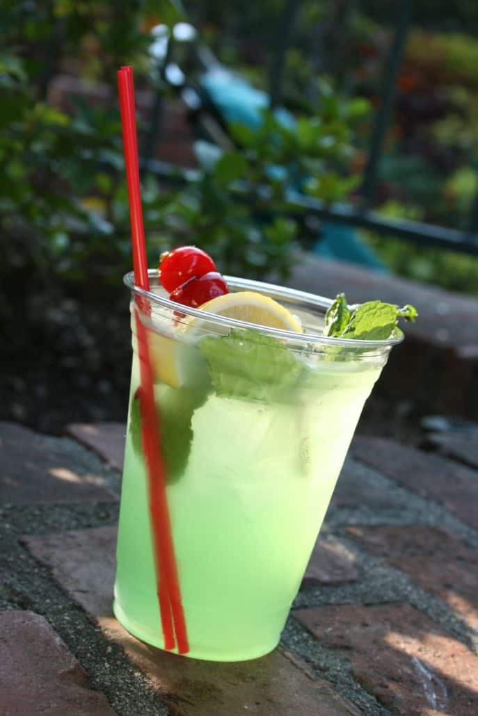 Mint Julep from the Mint Julep Bar at New Orleans Square Disneyland