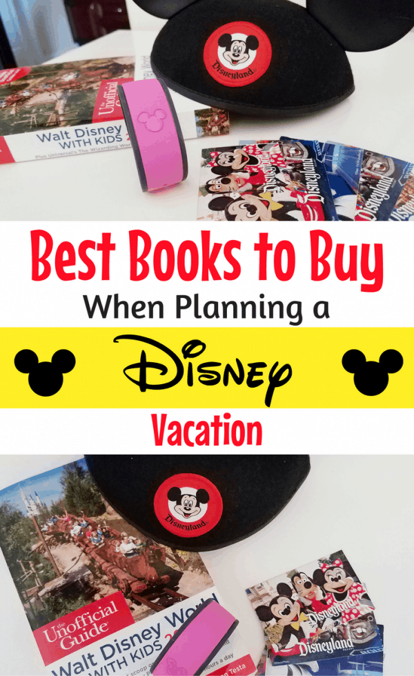 Planning a Disney trip? Pick up one of these recommended Walt Disney World or Disneyland books for everyone in your group!