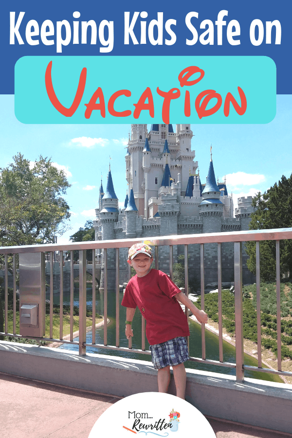 Travel safety with kids is first priority. If you've ever lost a kid or had a child get sick on vacation, you know that safe travel is invaluable. These are practical and inexpensive ways to keep kids safe on vacation including travel with babies and toddlers, water safety, hotel room safety products and first aid tips. #FamilyTravel #Vacation #Disney | Disney Travel Tips | Travel with Kids | Family Travel | Safety Travel Tips | Toddler Travel