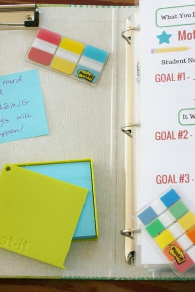 Motivation for School to Keep Kids (and Moms!) On Track
