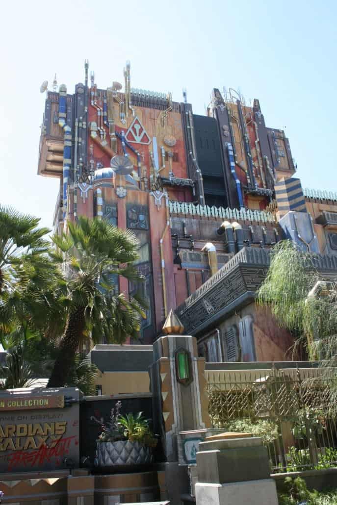 Guardians of the Galaxy - Mission: BREAKOUT! Disney California Adventure park