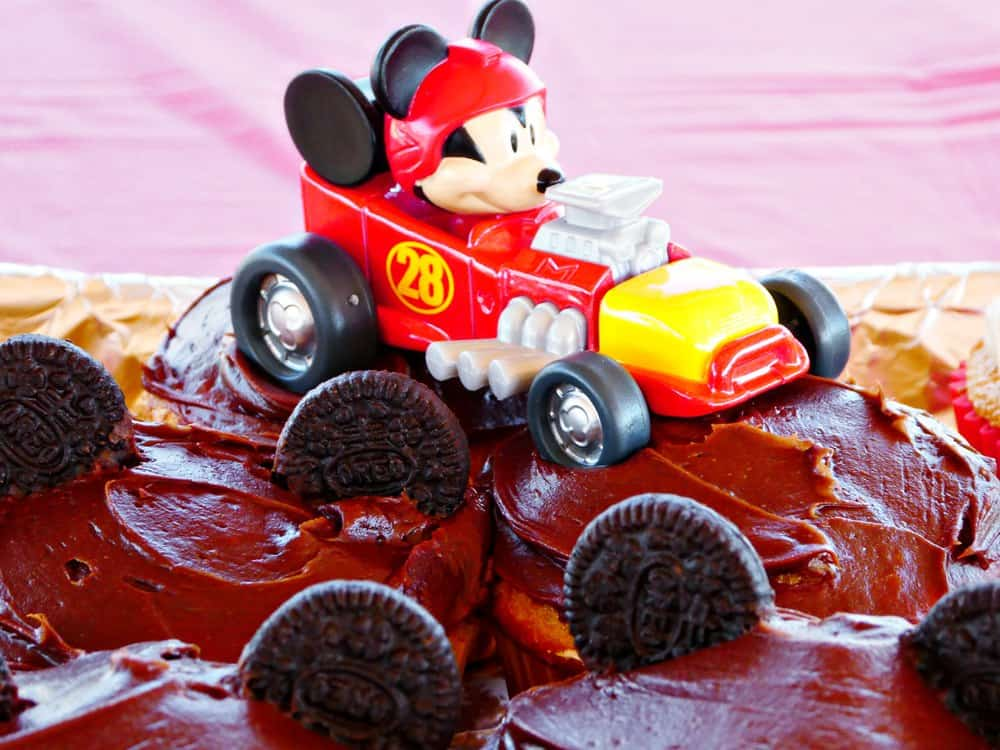 Quick and Easy Mickey and the Roadster Racers Birthday Party