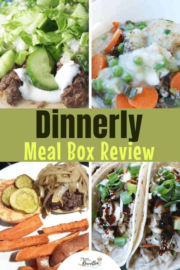Dinner ideas for families that are quick and cheap? Find out how to get all the ingredients for delicious dinner dishes delivered to your home each week (at a fraction of the price for other meal subscription services!) I've reviewed the recipes from 4 Dinnerly boxes and share if they are easy to prepare, vegetarian dishes, and how they taste. #Dinnerly #Recipes #MealBox #Subscription | Dinner Delivery | Meal Delivery | Meal Box | Family Dinner | Cooking