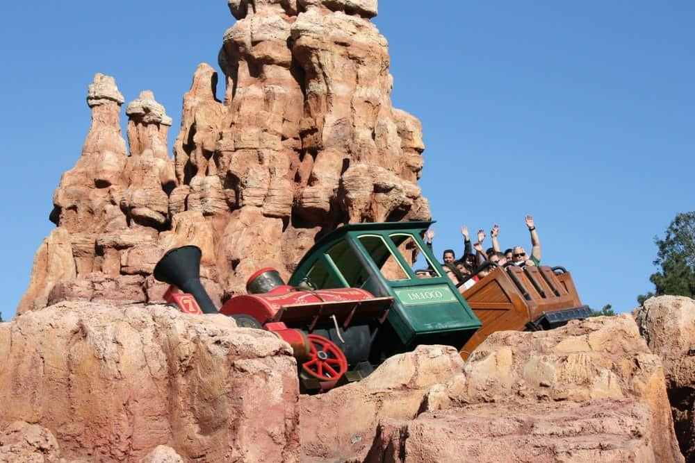 Big Thunder Mountain Railroad Disneyland