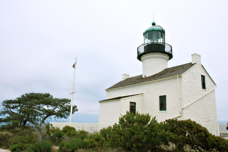 Cabrillo Monument in San Diego Point Loma