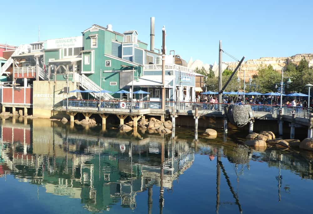 Pacific Wharf in Disney California Adventure park