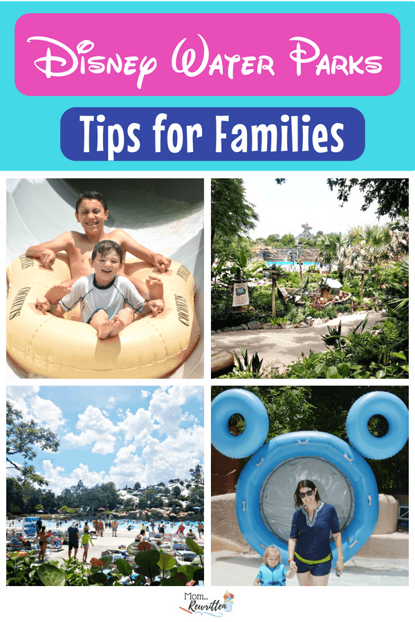 Blizzard Beach or Typhoon Lagoon are the Disney World water parks. Find out all the tips on visiting these water parks in Orlando with information on what to do, what to skip and how to have the best time with everyone in the family (including tips for babies, toddlers and teens) #Disney #DisneyWorld #WDW #WaterParks #BlizzardBeach #TyphoonLagoon | Family Travel | Florida | Travel with Kids | Walt Disney World | Swimming | Pools | Summer Travel | Disney Tips