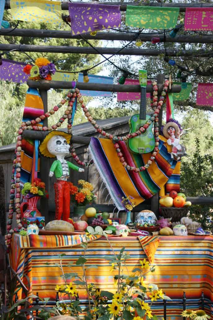 Dia de los Muertos ofrenda at Disneyland