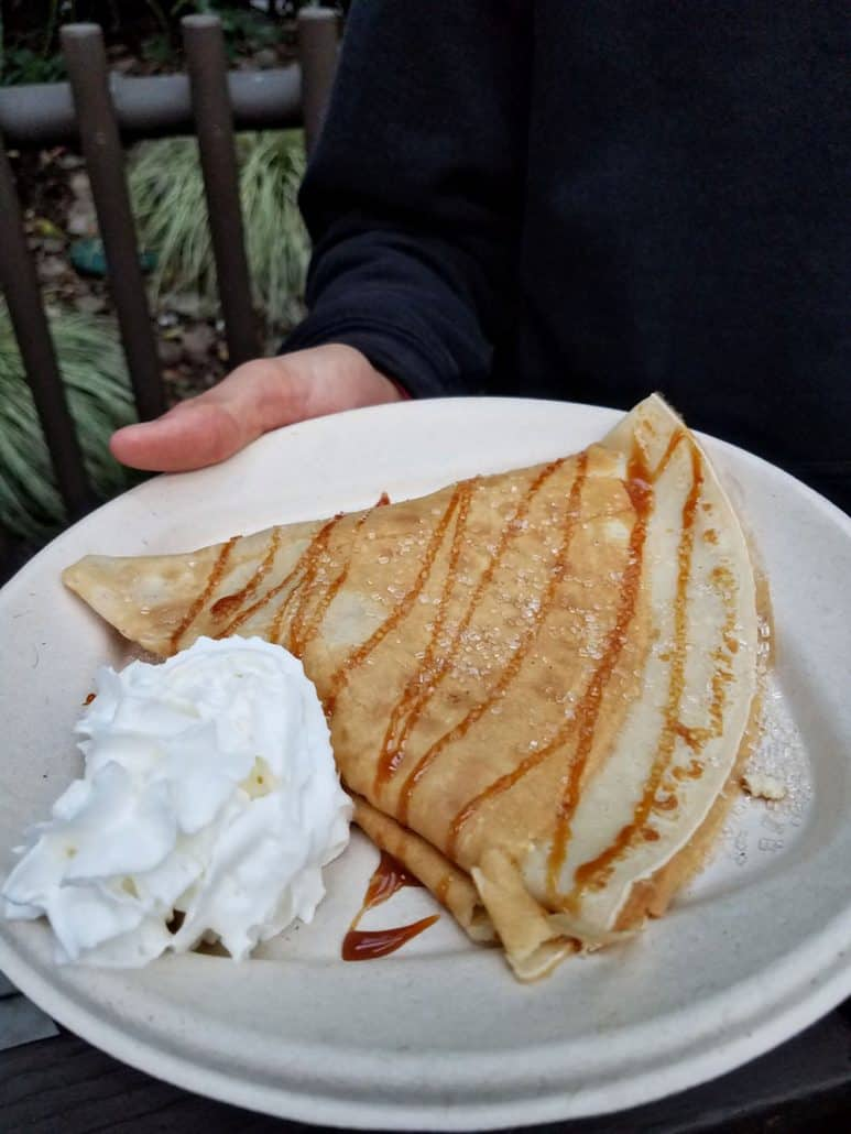 LEGOLAND Brick-or-Treat Halloween party pumpkin crepe