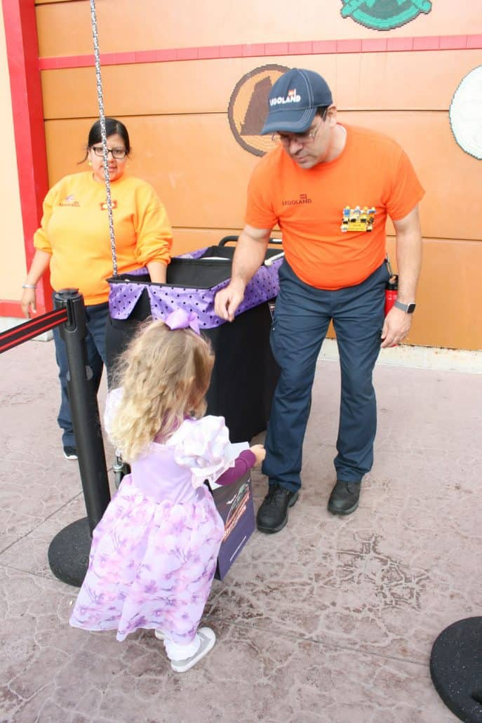LEGOLAND Halloween treat cart at Brick-or-Treat
