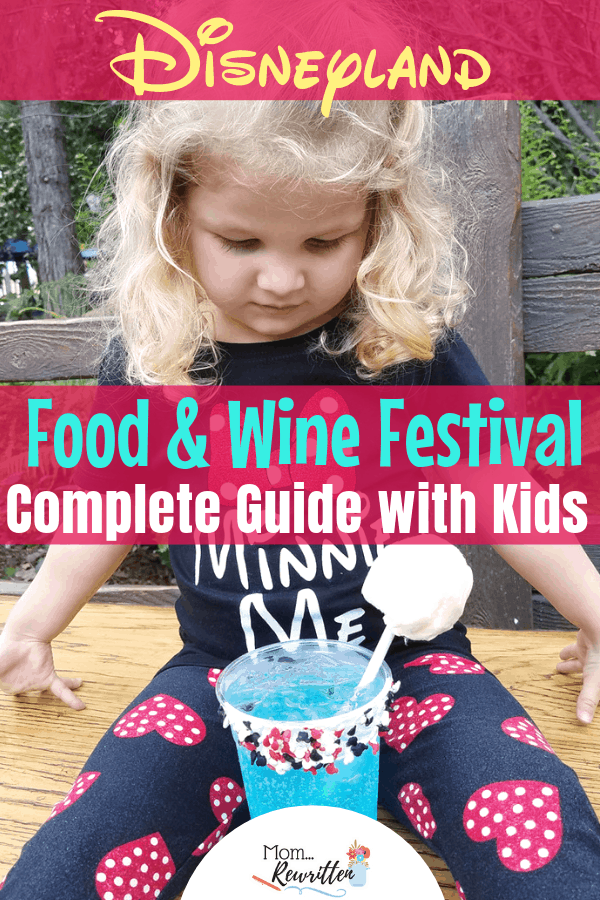 It's the ultimate guide to the Disney California Food and Wine Festival, an annual family-friendly event held at the Disneyland Resort, inside Disney California Adventure park. Get all the tips for taking toddlers, preschoolers and kids to this event including what to do, kid-friendly dining, shows, entertainment and itinerary for your day! #DisneyCaliforniaFoodandWine #DisneyTravel #Disney | Travel with Kids | Family Travel | SoCal | Theme Park | Amusement Park | Food Festival | Food & Wine