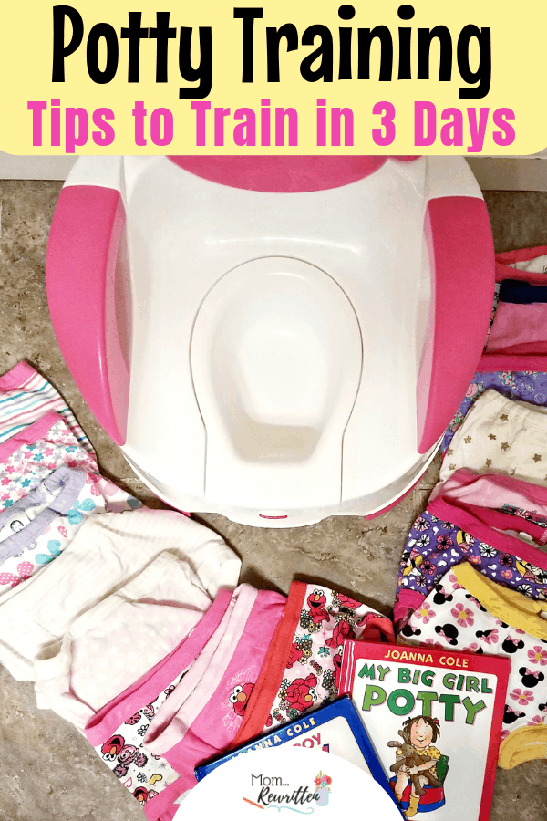 You might have heard about the potty training in three day method and wonder if it would work with your toddler? These are the must-read toilet training tips for kids including how to prep your child, prepare your family & FREE printables, including a printable sticker chart. These are the potty tips you'll need for success! #PottyTraining #ToiletTraining #Toddler | Positive Parenting | Potty Training in 3 Days | Potty Training Tips