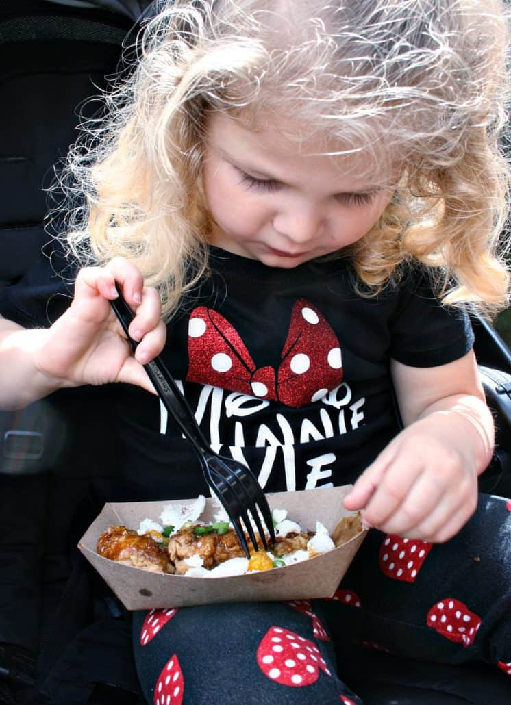 Disneyland California Food and Wine Festival with preschoolers