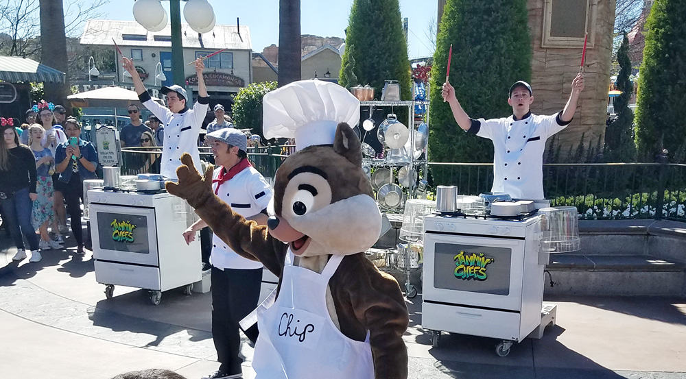 Disneyland California Food and Wine Festival Jammin' Chefs