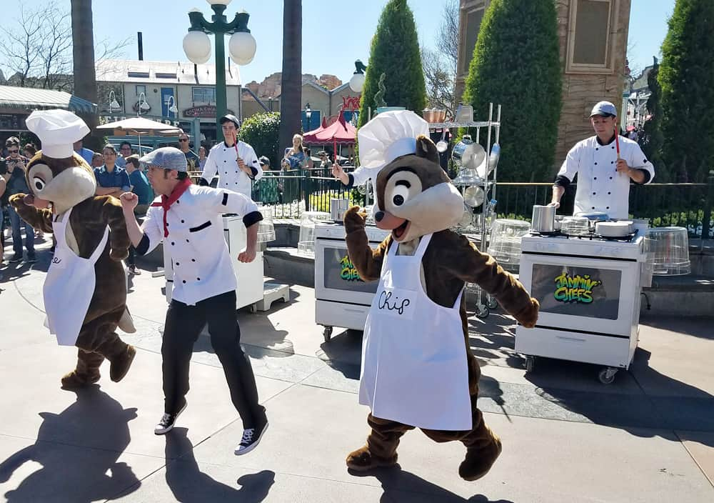 Disneyland California Food and Wine Festival Jammin' Chefs show