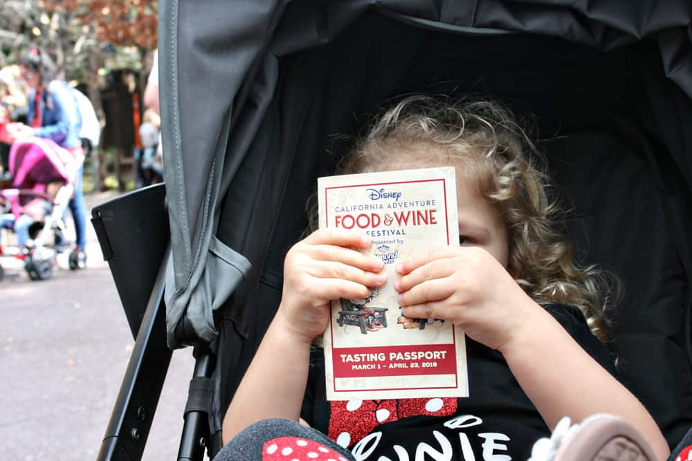 Disneyland California Food and Wine Festival Tasting Passport