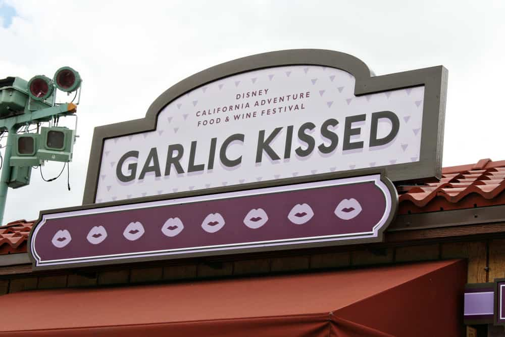 Disneyland California Food and Wine Festival Garlic Kissed