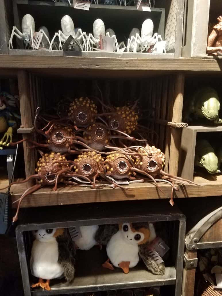 Creature Stall in Star Wars: Galaxy's Edge in Disneyland