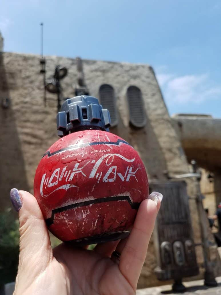 Coca-Cola in Star Wars: Galaxy's Edge in Disneyland
