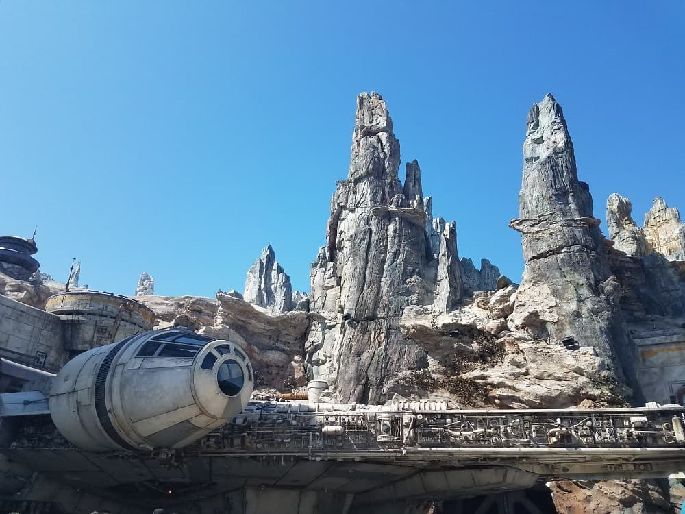 Star Wars: Galaxy's Edge at Disneyland Park - Millennium Falcon