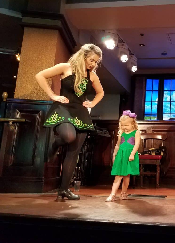 Raglan Road kid's Irish dance lessons
