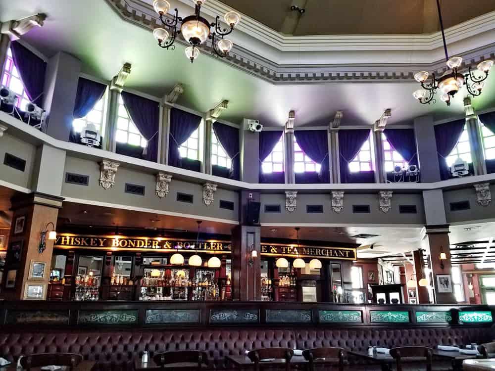 Raglan Road Irish Pub interior bar