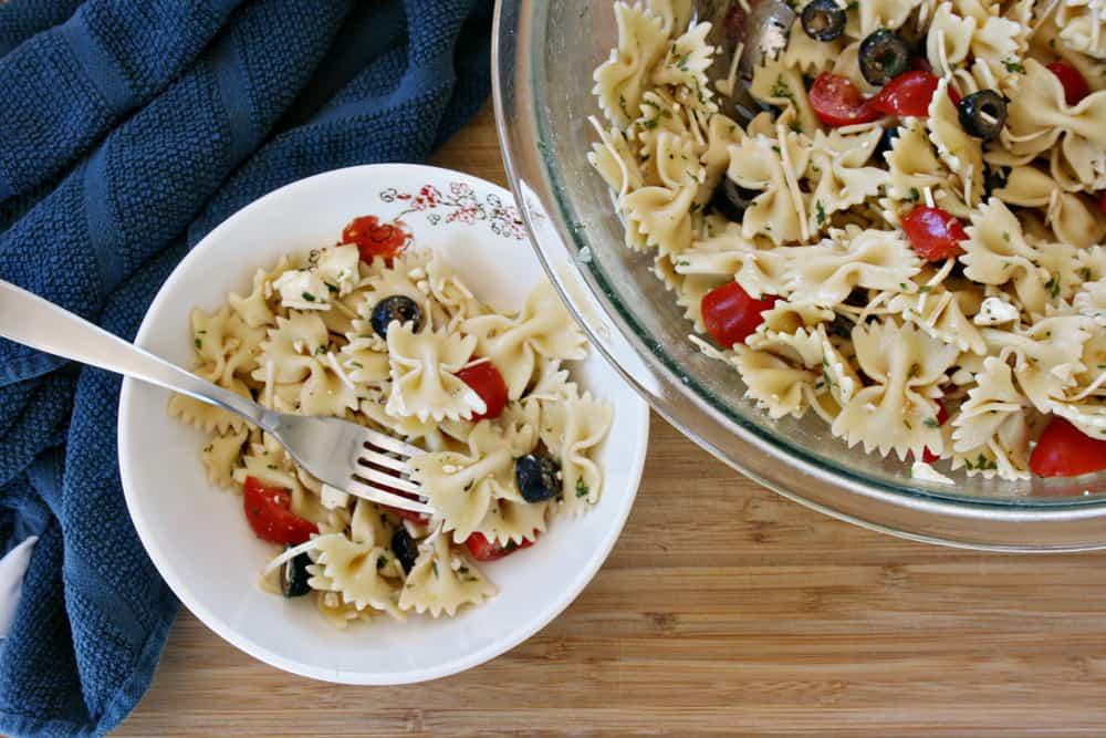 Summer pasta salad recipe