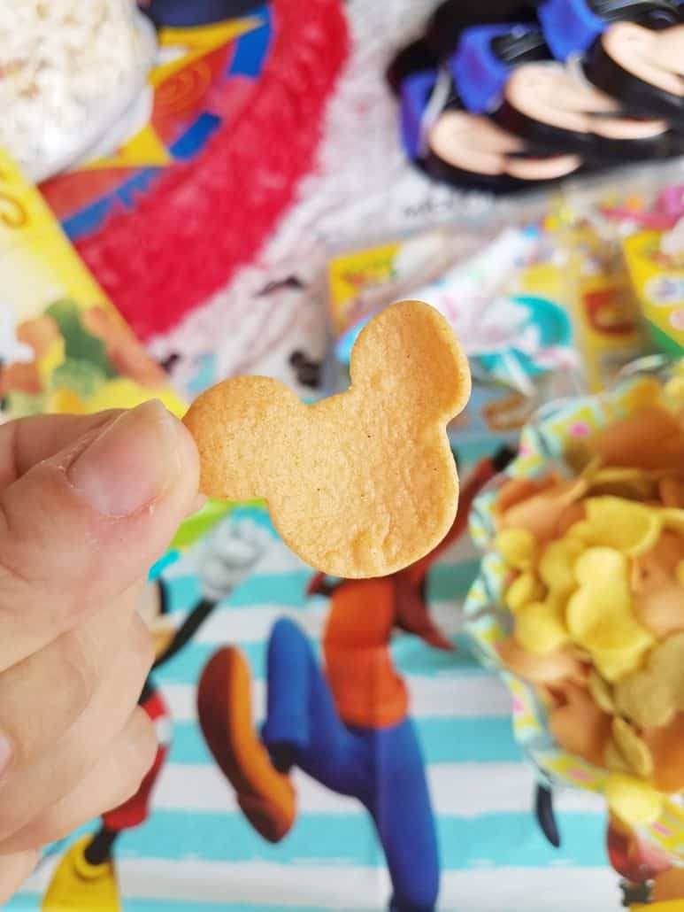 Mickey Mouse chips
