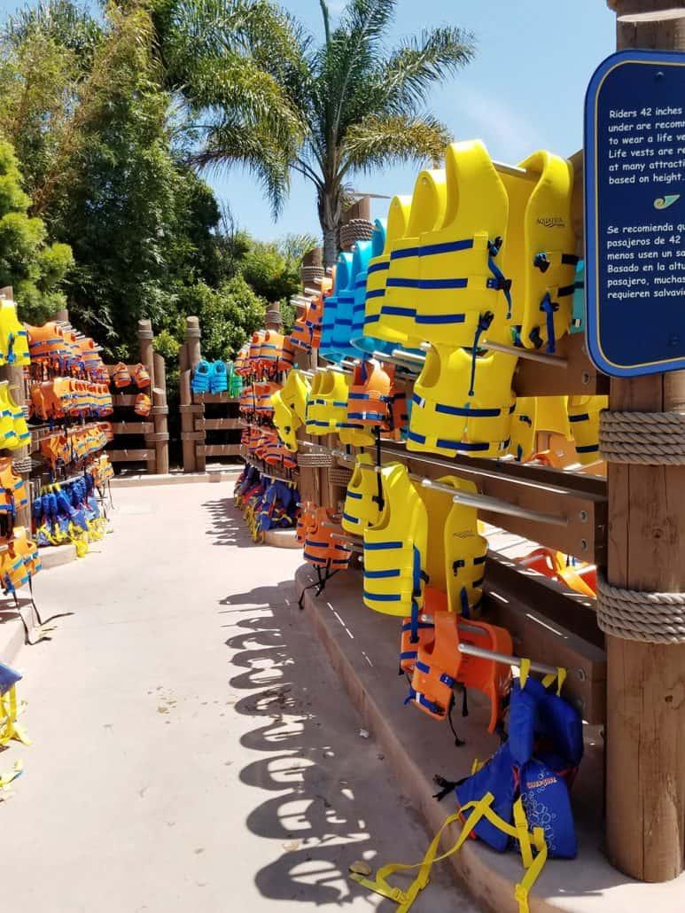 Aquatica San Diego life vests