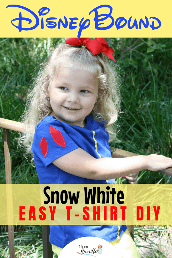 Snow White DisneyBound Disney T-shirt DIY