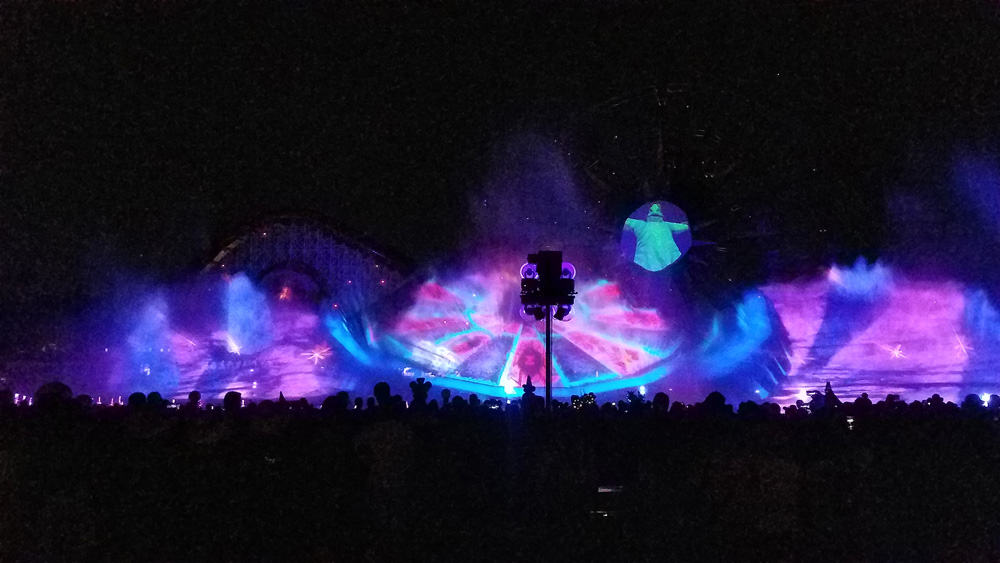Oogie Boogie Bash World of Color show