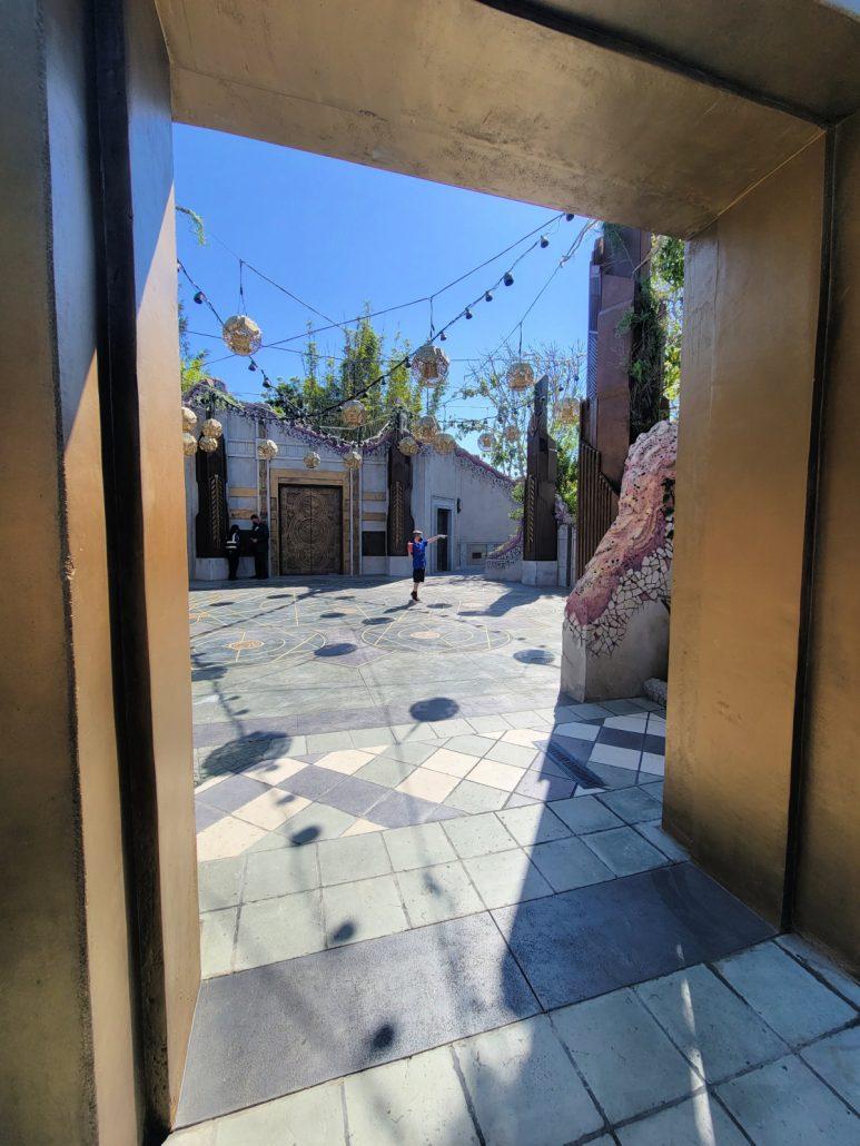 Entrance to Doctor Strange ancient sanctum